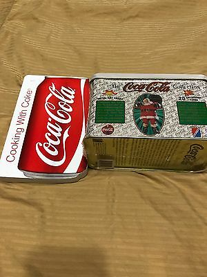 Coca Cola Metal Cards Plus Cooking With Coke