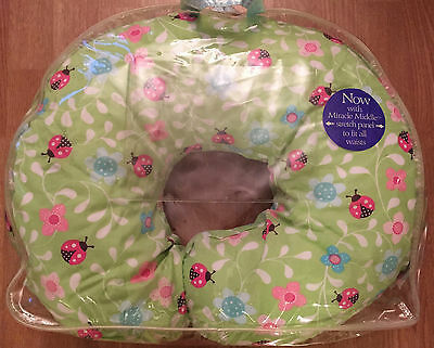 The Original Boppy Feeding & Infant Support Pillow with Ladybug Cover