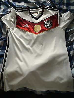 Authentic Germany 2014 World Cup Home Shirt Large