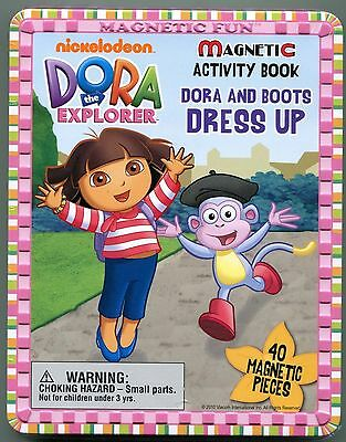 Dora the Explorer Magnetic Activity Book Dora and Boots Dress Up Free Shipping