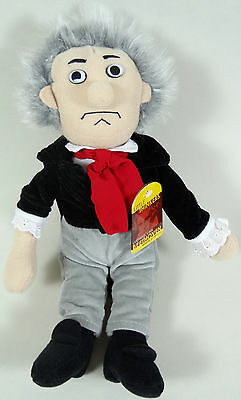 Beethoven Plush Wind Up Classical Music Box Little Thinkers Retired Version 06