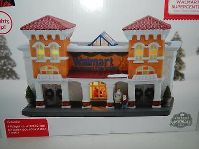 Walmart Supercenter 2016 Xmas Village House Store Lighted Traditional Victorian