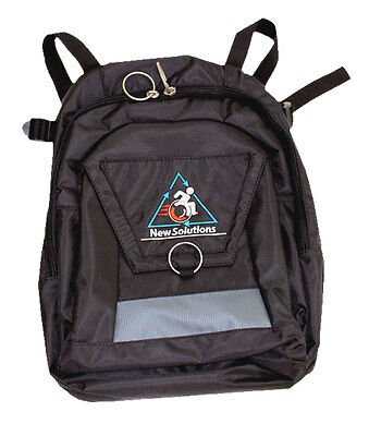 Mobility Backpack bag for Wheelchairs with Handles