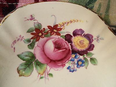 Royal Doulton England Small Floral Pattern sweets shabby vintage floral  Dish