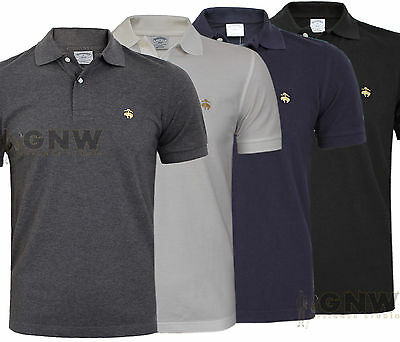 8c99a005b BROOKS BROTHERS MEN PERFORMANCE POLO T SHIRT GOLDEN FLEECE S,M,L,XL ...