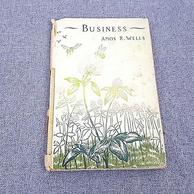 Vintage 1920s Business: Amos Wells Small Book