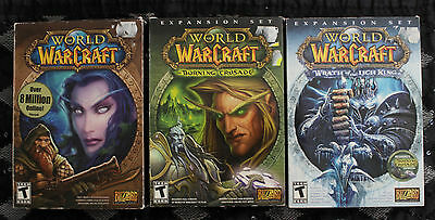 World of Warcraft Collection (Original plus Burning Crusade and the Lich King)