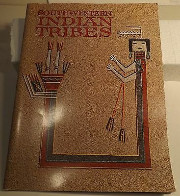 Southwestern Indian Tribes Softcover Book Native American History 1968