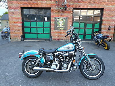 1994 Harley-Davidson Dyna  1994 HARLEY DAVIDSON FXDS DYNA LOW RIDER CONVERTIBLE FXR ORIGINAL PAINT AND BAGS