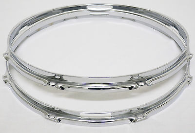 "1990's Era SONOR 14"" 8-Hole SNARE DRUM HOOPS (Hilite/Force/2000/3000/2001/Maple)"