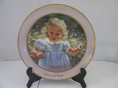 """""""love Believes All Things"""" Collectors Plate By Abbie Williams #0257A"""