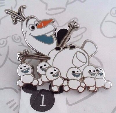 Olaf Snowman Being Carried by Snowgies Frozen Fever Disney Pin Buy 2 Save $