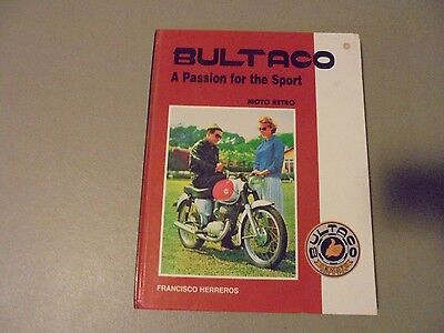 2001 Hardcover Book Bultaco -A Passion For The Sport Book By Fransico Herreros,