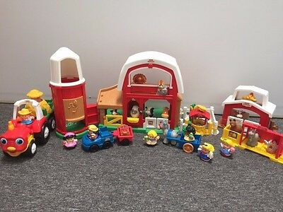 Fisher Price Little People Farm plays set