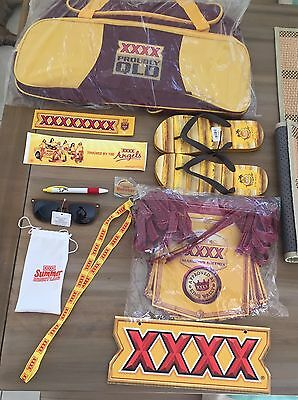XXXX Pack Thongs Bunting Sports Bag Stickers Corflute Summer Bright Sunnies +