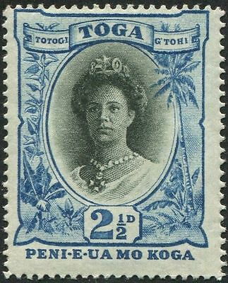 Tonga 1921 SG58 2½d Queen Salote MLH