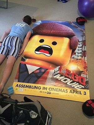 HUGE Lego THE MOVIE  Poster