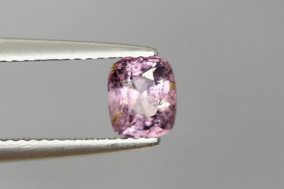 0.990 Ct 100% Natural Hot Rich Sparkling Bur-Mese Pink Unheated Rare Spinel~!!!