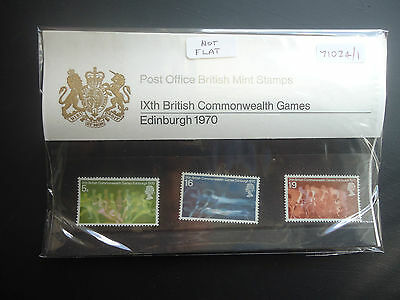 Great Britain Presentation Pack 1970 Commonwealth Games MNH (71024/1)