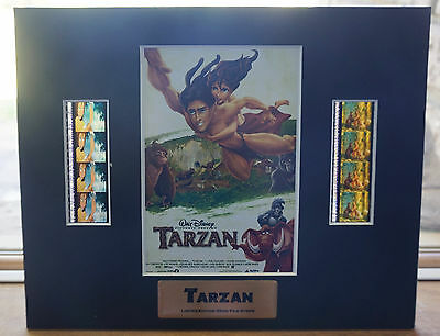 Disney Tarzan Limited Edition 35mm Film Cell Unframed (& Cert of Authenticity)