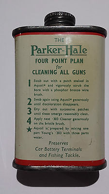 """Parker-Hale Young's """".303"""" Nitro Powder Solvent, Oil Tin Can, Oiler"""