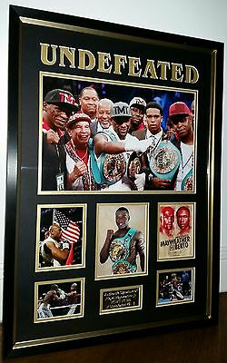 *** RARE FLOYD MAYWEATHER Signed Photo Picture Autograph Display ***
