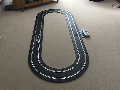 Digital Scalextric Indy Track Layout Including Lane Change & Power Base ~ New