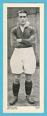 Football - Topical Times - Very Rare Xxl Scottish Footballer Card - George Hay