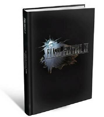Final Fantasy XV : The Complete Official Guide Collectors (Hardback)
