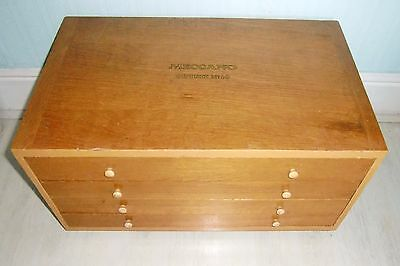 Meccano Set Outfit No. 10 in 4 Drawer Cabinet, Guaranteed Complete
