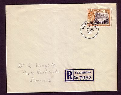 A 1948 cover bearing the 10/- value take a L@@K
