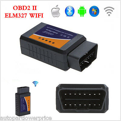 ELM327 WiFi OBD2  Car SUV Diagnostic Scanner Scan  Code Reader Tool  iOS Android