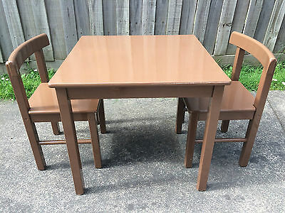Ikea Wooden Table and Chairs