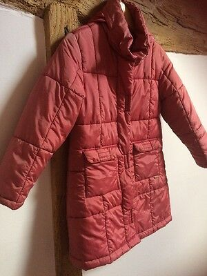 KOOKAI Girls Quilted Coat Size 128 Cm Approx 8 Years