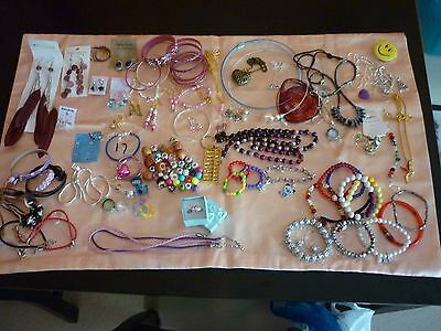 Sale Huge Bulk Lot Of Jewelry New Lots  Goodies Over 80 Pieces See Description