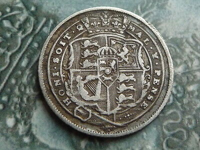 sixpence coin 1817 decent grade