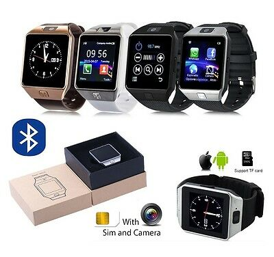 DZ09 Telefono Reloj Inteligente Bluetooth SmartWatch para Android IOS TF SIM