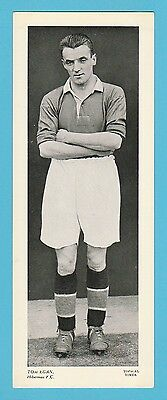 Football - Topical Times - Very Rare Xxl Scottish Footballer Card - Tom  Egan