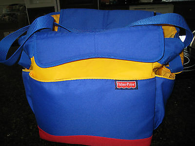 Fisher Price Large Toy Tote Car/Home Shoulder Strap/Handles Lots Of Pockets