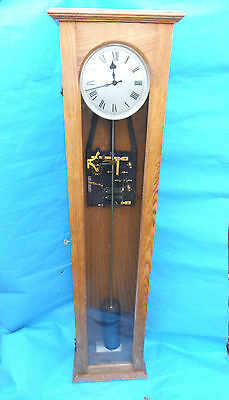 Beautiful Synchronise Electric Master Clock Circa 1930's Nra 2708