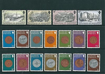 18 Great Bailiwick of Guernsey Stamps