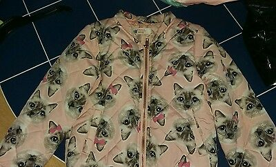 Baby girls cat jacket from h&m 5-6 yrs ????