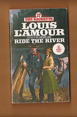 """Three Louis L'Amour Western Novels """"Ride the River..."""