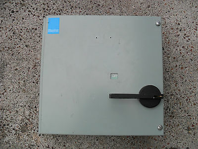 Simplex Century metal industrial switch 100A SPN 1 Phase 440Volt 2 pole isolator