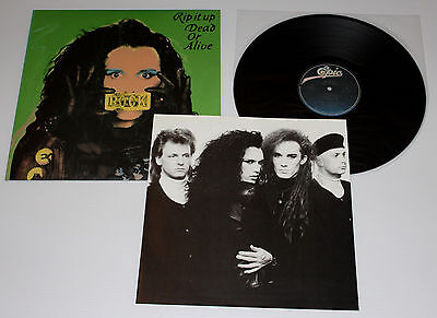 Dead Or Alive - Rip It Up - Vinyl Lp - 1987 Japan Release - Pete Burns