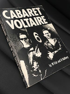 Rare CABARET VOLTAIRE The Art Of The Sixth Sense 1985 Ist Edition Paperback