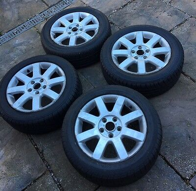 """Vw Golf Mk5 16"""" Alloys With Tyres"""