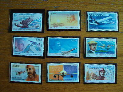 Timbres france neufs poste aerienne lot 3