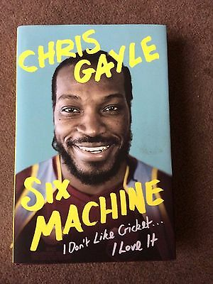 Signed Chris Gayle autobiography