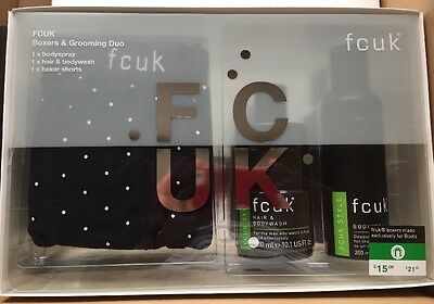 Fcuk Boxers And Grooming Duo